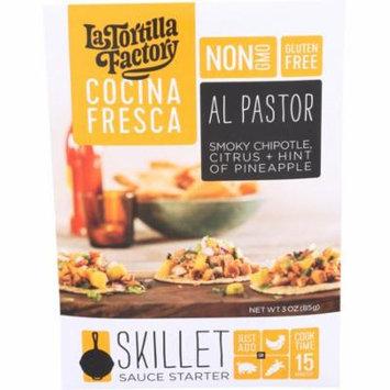 La Tortilla Factory Cocina Fresca Al Pastor Skillet Sauce Starter 3 oz. Packet