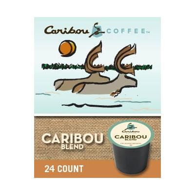 Caribou Coffee Blend (1 box of 24 K-Cups)