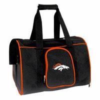 NFL Denver Broncos Pet Carrier Premium 16In Bag