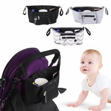 Baby Stroller Organizer Bag, Cup Bag Baby Stroller Organizer Baby Carriage Pram Buggy Cart Bottle Bags