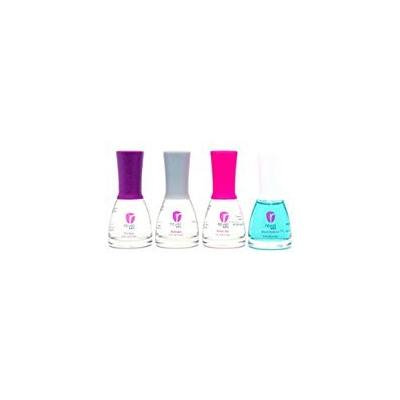 Revel Nail Dip Powder Liquid Steps 1-4 & Brush Cleaner