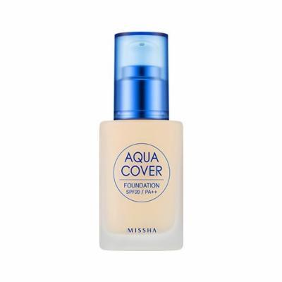 [Missha] Aqua Cover Foundation SPF20 PA++ #13