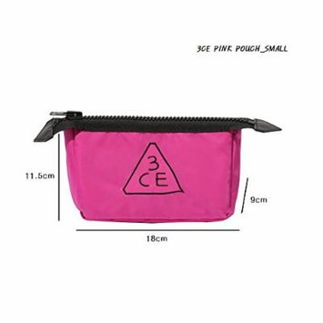 3CE Pouch Makeup Pouch Bag Travel Cosmetic Bags #Pink K-beauty (Small)