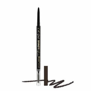 (6 Pack) l.A. GIRl Shady Slim Brow Pencil - Blackest Brown