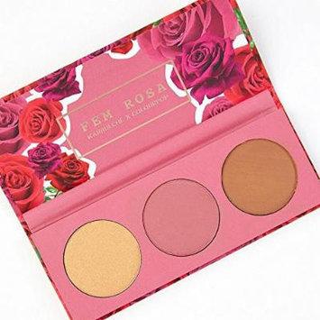 ColourPop - Fem Rosa Karrueche - Pressed Powder Cheek Palette - Her