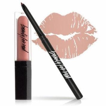 Beauty For Real Lip Duo Set - Lip Gloss + Lip Liner Set - 2 Piece Set (NUDIST)