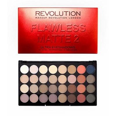 Makeup Revolution Eyeshadow Palette, 32 Colors, Flawless Matte 2