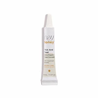Hey Honey TRICK & TREAT Active Propolis Cream Concealer Light to Medium, 0.27oz