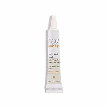 Hey Honey Trick AND Treat: Active Propolis Cream Concealer - Natural Tone - Light to Medium - 0.27 oz