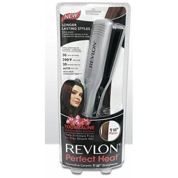 Revlon Perfect Heat Tourmaline Ceramic Straightener Flat Styler