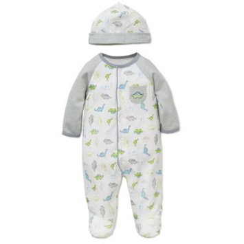 Little Me® 2-Piece Tiny Dinos Footie and Hat Set