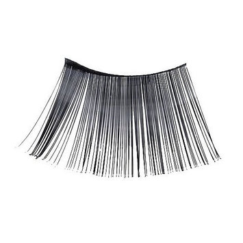 Loftus International Loftus Extra Long Flashy Costume 2pc Eyelashes, Black, One Size Novelty Item