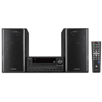 Sharp XL-HF203B - Hi-Fi Component Speaker System with Hi Resolution Audio