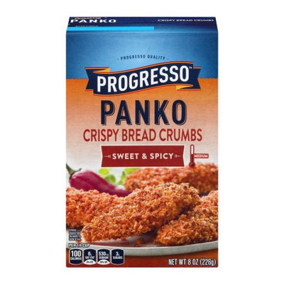 General Mills, Inc Progresso Panko Crispy Bread Crumbs Sweet & Spicy, 8.0 OZ