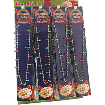 DD Christmas Bulb Necklace(pack Of 72)