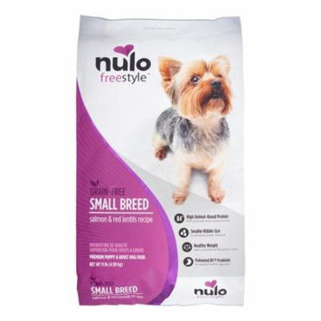 Nulo FreeStyle Grain-Free Small Breed Salmon & Red Lentils Dry Dog Food, 11 Lb
