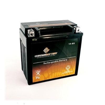 YTX14-BS ATV Battery for HONDA TRX500 FourTrax Rubicon 500CC 01-'09