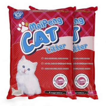 Hifashion 2Pcs 10L*2 Cat Litter Natural Quick Clumping HFON