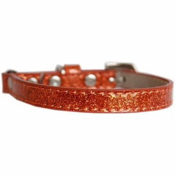 Ice Cream Plain Cat Safety Collar Orange Size 12