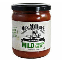 Mrs. Millers Homemade Mild Chunky Salsa 16 Oz. (3 Jars)