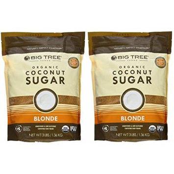Big Tree Farms Organic Coconut Sugar 3 Pound Bag (Pack of 2)