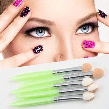 Brand New 5 Pcs Beauty Makeup Cosmetics Eye Shadow Eyeliner Brush Sponge Applicator Tool Drop Shipping Wholesale