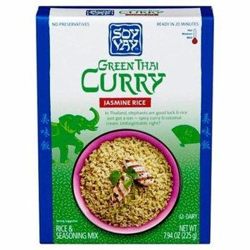 Soy Vay Rice & Seasoning Mix Green Thai Curry (6x7.94 OZ)