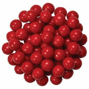 Red Edible Candy Pearls - Great for cupcakes, cookies, cake pops - 4 oz