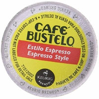 Café Bustelo Espresso, Single Serve Coffee K-Cups, 48-Count For Brewers