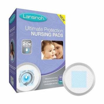 Lansinoh ultimate protection nursing pads, 50 ct. part no. 20290 (50/box)