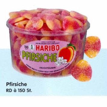 Haribo Pfirsiche Peaches, Tub