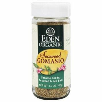 Eden Foods - Organic Seaweed Gomasio Sesame Seeds, Seaweed & Sea Salt - 3.5 oz. pack of 4