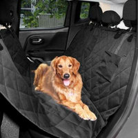 Big Saving for Dog Car Seat Covers, Front Single Waterproof Travel Booster Hammock Soft Protector Mat Blanket Portable Buckle Suitable For All Types Of Cars, Vans, SUVs, Trucks,Pickups Margot