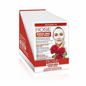 Dermactin-TS Facial Sheet Mask - Cooling Rose Packette