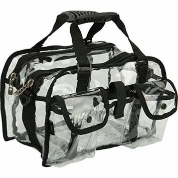 Casemetic Giardino Carry Clear Set Makeup Bag, Black, 2 Pound