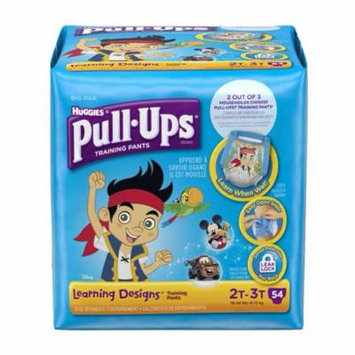 Pull-ups learning designs training pants 2t-3t boy big pack part no. 45148 (108/case)
