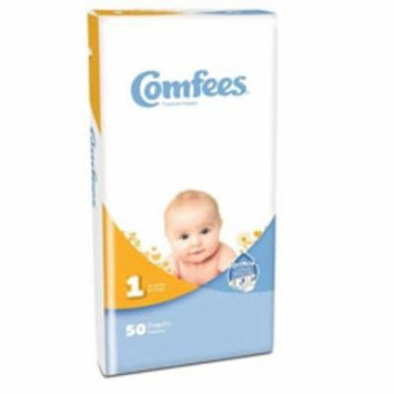 Baby Diaper Comfees Tab Closure Size 1 Disposable (200/CA)
