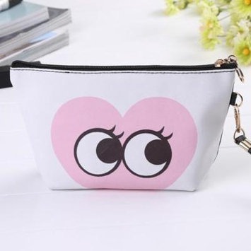 Women Toiletry Makeup Bag Travel Organizer Storage Pouch Clutch Bag Print Margot