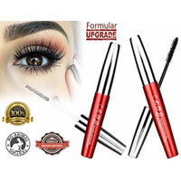 3D Fiber Lash Mascara Smudge Resistant 300% Fuller & Thicker & Longer 12h Long Lasting Easy Remove Highest Quality Natural & Non-Toxic Hypoallergenic Ingredients