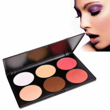 6 Colors Makeup Cosmetic Pressed Powder Blush Blusher SPPYY