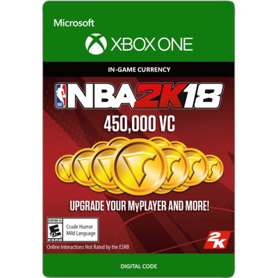 Incomm Xbox One NBA 2K18 450,000 VC (email delivery)