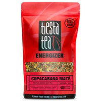 Tropical Mango Mate Tea , Copacabana Mate by Tiesta Tea , High Caffeine , Loose Leaf Mate Tea Energizer Blend , 1 Lb Bulk Bag