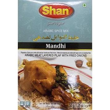 Shan Mandhi Arabic Meat Layered Pilaf Seasoning Mix - Pack of 6 (50g)