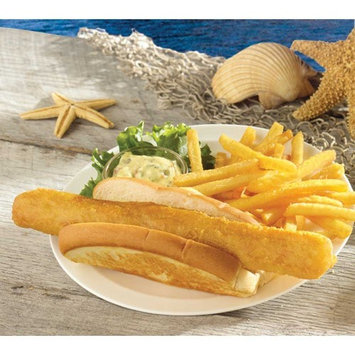 Sea Dog India Pale Ale Beer Battered Natural Cod Fillet, 4 to 5.5 Ounce of 28-38 Pieces, 10 Pound -- 1 each.