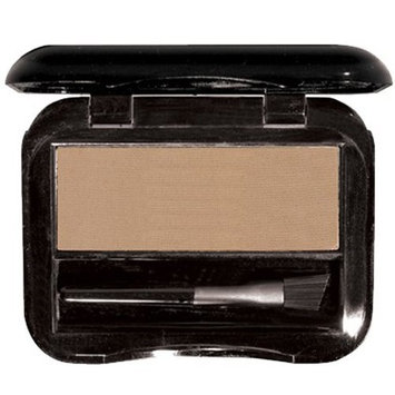 Monique Aesthetics Brush On Brow - Pressed brow powder, Shapes & contours, Paraben-free, Passover approved, Cruelty Free (Ash)