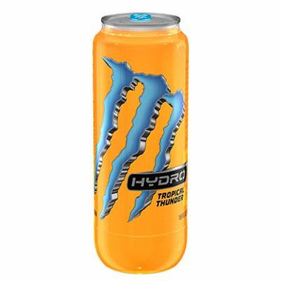 Monster Hydro 16.9oz Tropical Thunder (Pack of 12)