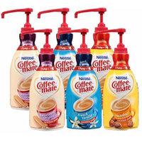 Coffee Mate Liquid Concentrate 1.5 Liter Pump Bottle - Variety 3 Pack - Original Sweetened Cream, French Vanilla & Hazelnut - 2 COUNT