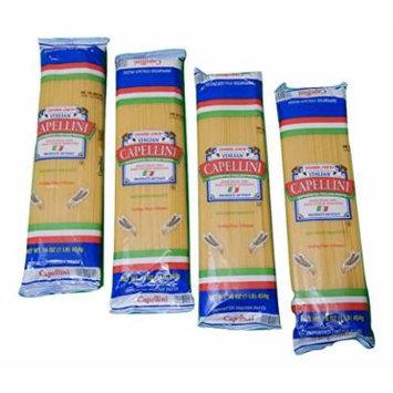 Trader Joe's Authentic Imported Italian Capellini Pasta, 1-Lb Bag (Pack of 4)