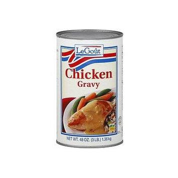 LeGout Chicken Gravy 48 Oz (2 Pack)
