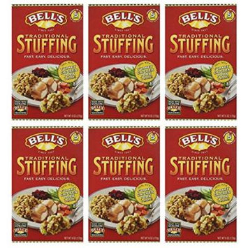Bells Traditional Ready Mixed Stuffing 6 Oz (Pack of 6)
